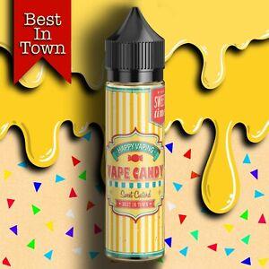 Vaporworks Sweet Custard E-liquids Short Fill | 70% VG Vape Juice | Premium
