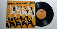"""AAVV HITS ON PARADE 10"""" 25CM LP CORAL GERMANY 1956 US 50'S VOCAL POP EX/M-"""