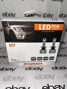 SYLVANIA H7 LED Fog Lights Bright White LED Light Set Of 2 Brand New