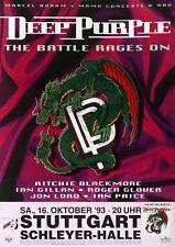 Original Konzertplakat  Deep Purple 16.10.1993  Stuttgart Schleyerhalle