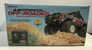 VTG Radio Shack 4X4 Off Roader RC All Terrain Vehicle w/ Controller 1985