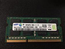 Samsung 4GB 2Rx8 SODIMM PC3-12800S DDR3 - M471B5273DH0-CK0