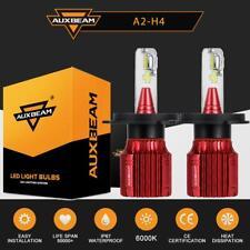 AUXBEAM A2 SERIES H4 9003 LED Headlight Bulbs Conversion Kit High Low Beam 50W