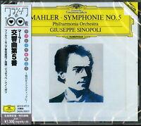 GIUSEPPE SINOPOLI-MAHLER: SYMPHONY NO. 5 IN C SHARP MINOR-JAPAN CD Ltd/Ed C41