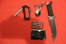 NEW SURVIVAL GEAR KNIFE TACTICAL FISHING HUNTING STAND CAMPING EDC TOOL MILITARY