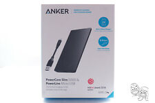 Anker - PowerCore 5000 mAh Portable Charger for Most USB-Enabled Devices - Black