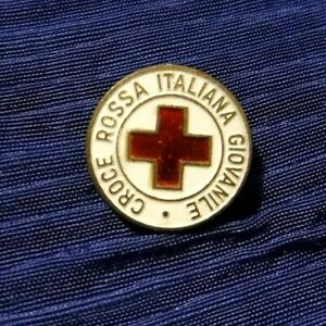 SPILLA CROCE ROSSA ITALIANA GIOVANILE - VINTAGE -