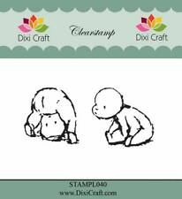 New Dixi Craft Clear Stamp Baby Babies 1