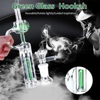 6.2'' Mini Glass Bongs Water Bubbler Pipes Water Bongs Recycler Hookah Hammer US