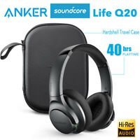 Anker Soundcore Life Q20 Wireless Over Ear Headphone Active Noise Canceling 40h