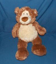 "Gund ALFIE # 15314 Teddy Bear Plush Stuffed 19"" Tall Tan Ivory SUPER SOFT"