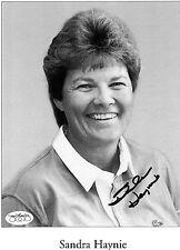 Sandra Haynie Signed 8 x 10 Photo JSA Authenticated