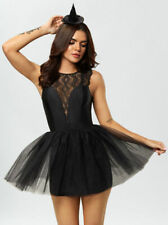 Ann Summers Wicked Witch Dress Up Black Size 8 / 10 Small BNWT RRP £35