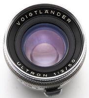 Voigtländer Ultron 50mm 50 mm 2 1:2 2/50 - Prominent / II