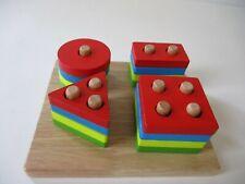 Wooden Toy Shape & Number Sorter