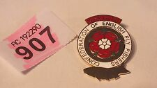 Vintage Confederation of English Fly Fishers Enamel Badge Fishing LOT P907A