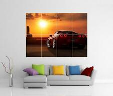 Corvette Sting Ray Sports Car SUNSET GIGANTE Wall Art FOTO CON STAMPA POSTER