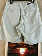 Patagonia organic cotton men's beige shorts flat front solid size 28