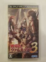 Valkyria Chronicles III PlayStation Portable Japan Version COMPLETE USA SELLER