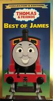 Thomas & Friends Best Of James Collector's Edition VHS 1998-RARE VINTAGE-SHIP24H