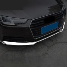 3pcs Car Chrome ABS Strips For Audi A4 B9 2017 Front Bumper Decoration Trim