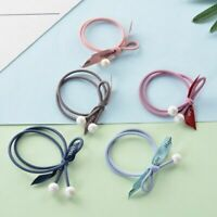 Girls Elastic Rubber Hair Ties Bands Rope Ponytail Holder Seamless Hair Acces