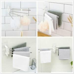 Door Hook Kitchen Rack Tea Towel Holder Cupboard Hanger Bathroom Rail Bar DMF