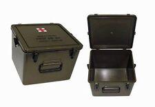 US Transportkiste First Aid Kunststoff gebraucht 1. Wahl ca. 28 x 27 x 19 cm Box