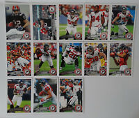 2011 Topps Atlanta Falcons Team Set of 13 Football Cards