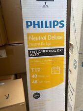 Philips F40T12/NEUTRAL DX ALTO  40W 10  Lamps Lamp Light Bulb 3500K