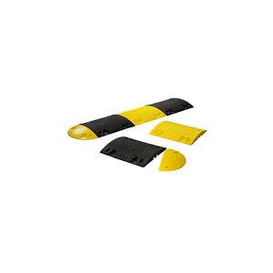 Bodenschwelle aus Recyclinggummi zum Aufdübeln oder Ankleben - Höhe 60 mm