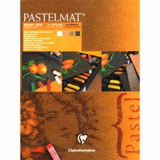 Clairefontaine Pastelmat Pad No.2 - Dark Shades 12 sheets 360gms