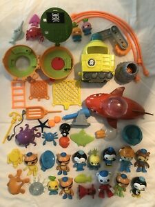 octonauts toys lot
