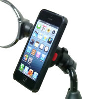 Compact Scooter Mirror mount & TiGRA Case for iPhone 5S