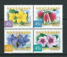AUSTRALIA 1999 COASTAL FLOWERS UNMOUNTED MINT, MNH