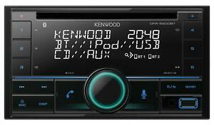 Kenwood DPX-5200BT Doppel-DIN CD/MP3-Autoradio Bluetooth iPod AUX-IN USB