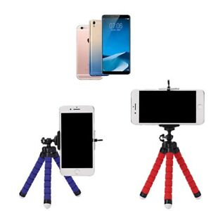 Universal Smart phone Octopus Stand Tripod Mount Holder Samsung iPhone Huawei