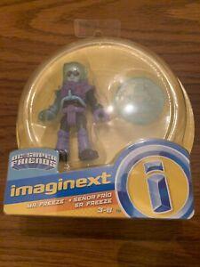 New Fisher-Price Imaginext DC Super Friends Figure Purple Mr. Freeze Rare