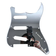Mirror Electric Guitar Pickguard Scratch Plate 1 Ply SSS for Fender Strat Parts