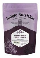 Organic Barley Grass Powder - 250g - Indigo Herbs