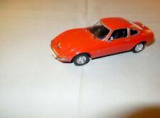 1:43 VITESSE Modellauto OPEL GT 2-Sitzer Sport Coupe 2-türig orange 1:43