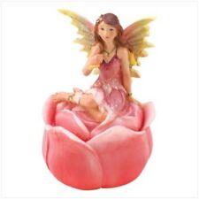 Pink Fairy Rosebud Keepsake Box