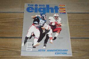 Vintage 1981 The Big 8 Magazine Volume 10 Number 1 Tom Osborne Roger Craig Plus+