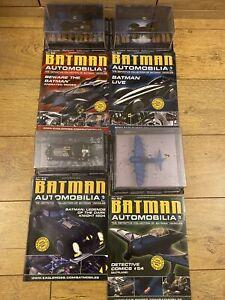 Batman Automobilia Collection X4
