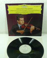 "DGG WL Promo Stereo LP: ASHKENASI / PAGANINI ""Violin Concertos 1+2"" 139 424"
