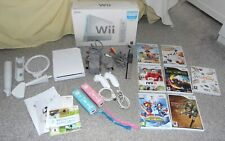 Nintendo Wii Console Sports Pack - 2 Player Family Bundle 7 Games Boxed Extras