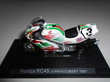 HONDA RC45 JOHN KOCINSKY 1997 BIKE MOTO ALTAYA IXO 1/24