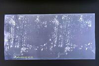 Montmorency Val - Un Oise Francia 3 Foto Stereo Negativo Su Film Morbido 1911