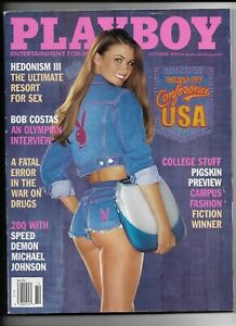 Back Issue October 2000 Playboy Magazine ~ Girls of Conference USA Cover