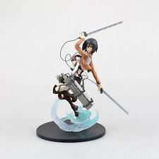 """UK Stock Attack on Titan Mikasa Action Figure 9"""""""